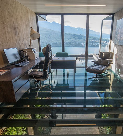 E13 Windows - Cascata - Office with a view